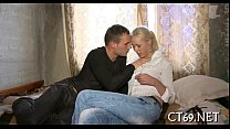 Seduction ends up with sex Preview