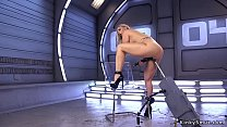 Curvaceous Milf fucking machine