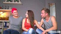 German cuties sharing a hard dick pornhub video