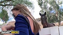 BANGBROS - Horse Lover Callie Calypso Gets Her Ass Stretched Out On Mr Anal! - 9Club.Top