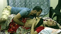 Indian Horny Unsatisfied Wife Having Sex With B