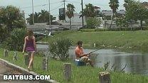 BAIT BUS - Straight Fisherman Mikey McKenna Gets Tricked