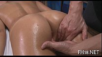 Babe gets wet crack fucked