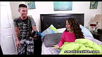 Step Brother Fucks His New Teen Step Sister -  - 9Club.Top