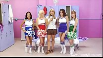 Fucking Four Cheerleaders At Once pornhub video