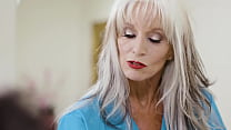 65yo Psychiotherapist Works On A Young Guy - Sally D'Angelo thumbnail