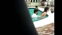 Real Couples Suddenly Became Horny In Pool