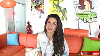 Spanish beauty Alexa Tomas gets her tight assho...
