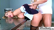 Sex In Office With Busty Slut Horny Girl (August Ames) vid-05