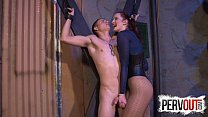 Tristan SWEET Cums On Vivienne LAMOURS Fishnets video