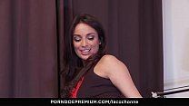 7260 LA COCHONNE - Hard ass fucking for naughty big titted French babe Anissa Kate preview