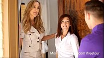 Brandi Love - Mom teach son - More on footjobs-...