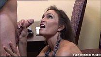 Brunette Milf Strokes A Boner thumbnail