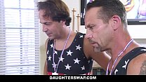 DaughterSwap - Daughters Lose Bet and Fuck Dads صورة