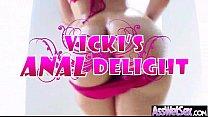 (vicki chase) Big Oiled Butt Girl Enjoy Deep Anal Hard Sex Act mov-30 - Download mp4 XXX porn videos