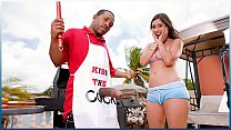 BANGBROS   Grill Master Shorty Mac Serves Alexi