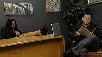 Victoria Enslaves Her Co-Worker - Victoria June- Femdom - 9Club.Top