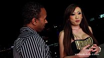 Venus Lux Sucks Cock And Ass Fucked