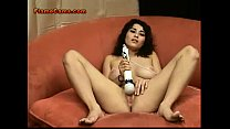 Amateur Hairy Young Babe Fingers and Toys