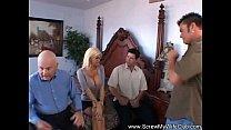 Busty Blonde Swinger Got Creampied pornhub video