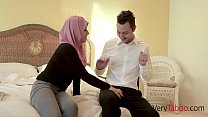 Virgin in HIJAB fucks her stepdad! Thumbnail