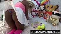 14760 Hardcore Hot Nasty Little Ebony Bitch Msnovember In Skirt Getting Pussy Fuck Sheisnovember HD preview