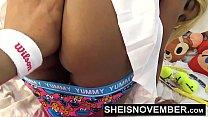 Hardcore Hot Nasty Little Ebony Bitch Msnovember In Skirt Getting Pussy Fuck Sheisnovember HD صورة