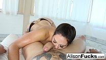 Image: Alison Tylers Hot blowjob