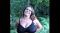 pawg milking in the woods thumbnail