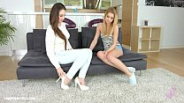 Angelina Brill with Lilly Vanilie having lesbian sex presented by Sapphix - Welc