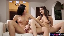 Stepdaughter teen divided secret with a MILF stepmom