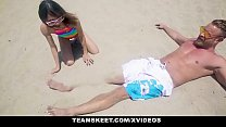 ExxxtraSmall - Beach Babe Boned in Hotel Room - 9Club.Top