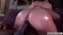 Brunette Goes Hardcore Pussy Fucked By A Big Bl...