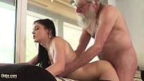 Old And Young Porn Teen Girlfriend Sucks Grandpa Cock Makes Him Cum Hard PornHD