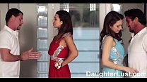 Fathers Trade Virgin Daughters on Prom Night  |DaughterLust.com Image
