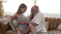 Sweet Teen Fucks Old Man