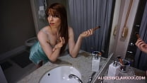 Image: Sister gets fucked by big brother while getting ready for her date
