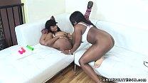 Hot Big Titty Lesbian Fun With Carmen Hayes & Taylor Layne thumbnail