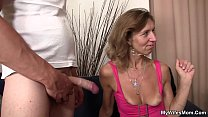 She is riding son in law cock