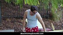 Rich Socialite Ebony Teen Babe Ana Foxxx Fucked By The Pool Guy - 9Club.Top