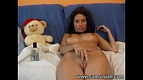 Oiled up and stroking my cameltoe