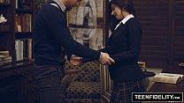 TEENFIDELITY - Schoolgirl Michelle Taylor Creampied By Teacher thumbnail