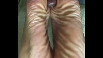 cum on mature Wrinkledsoles