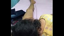 Tamil girl enjoying with her boss1