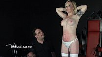 Angels breast whipping and frontal spanking of blonde milf in hardcore bdsm and pornhub video