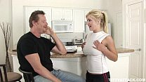 busty blonde Andi Anderson fucks the guy who he...