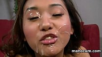 POV Asian teen hooker craving for a big load gi...