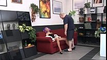 oldman with girlfriend - tubesclub.com