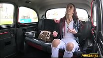 College Paris Divine gets her pussy slammed in the backseat - 9Club.Top