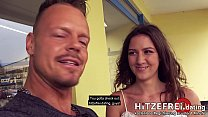Hitzefrei.dating ► PUBLIC PICK UP ◄ SKINNY TEEN Alessandra Amore Fucked at the Riverside